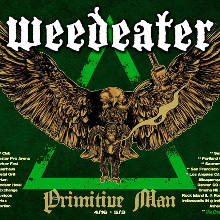 WEEDEATER announce western US and Canadian tour