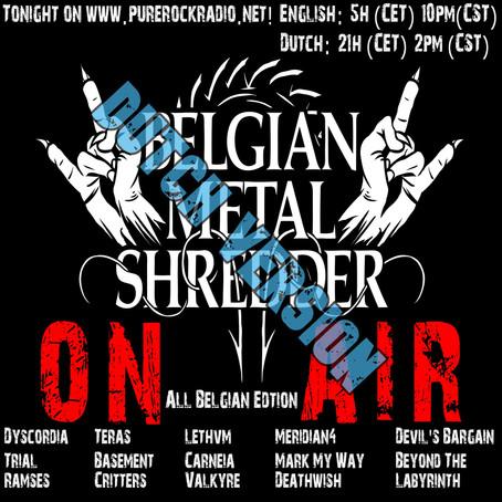 Belgian Metal Shredder: Volledig Belgische Editie! (Dutch)