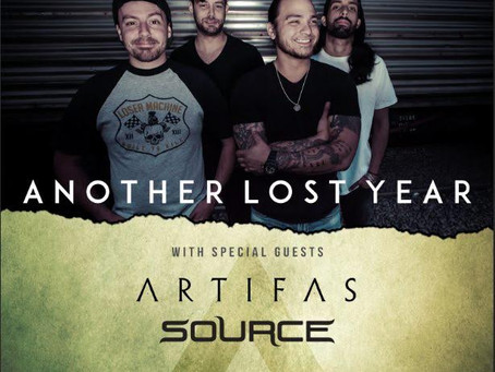 ANOTHER LOST YEAR announce 'The Budz Are Back In Town' Tour with ARTIFAS & SOURCE