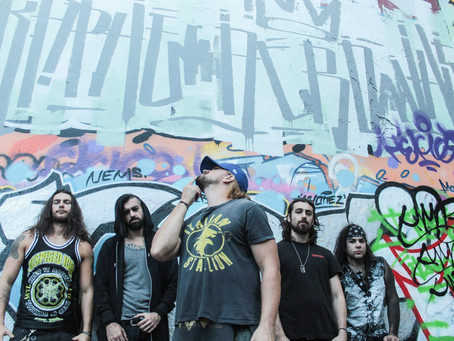 GearGods video premiere 'Black Rain' by Montreal's DEMISE OF THE CROWN