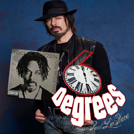 6 Degrees with Paul LaPlaca: Richie Kotzen