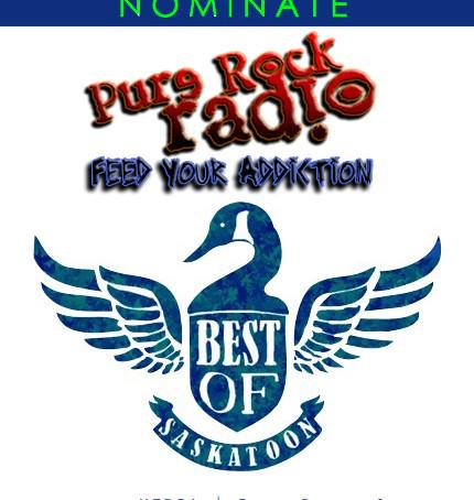 "PLANET S MAGAZINE ""Best Of Saskatoon"" Voting Open; Nominate PURE ROCK RADIO ;)"