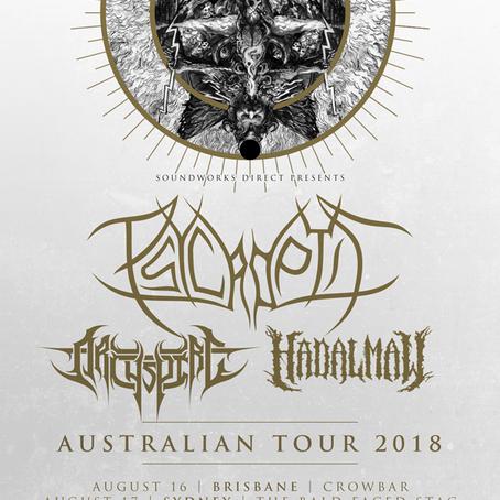 ARCHSPIRE announce Australian tour, tease Canadian headlining tour