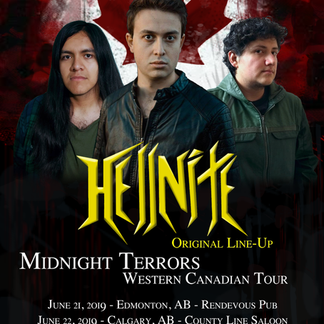 "HELLNITE To Tour Western Canada Promoting ""Midnight Terrors"" (Sliptrick Records)"
