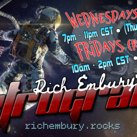 New Pure Rockers & Classic Favs - Rich Embury's R3TROGRAD3 (11/18 & 11/20)
