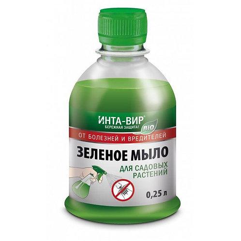 """Инта-вир """"от болезней и вредителей"""" Зеленое мыло"""
