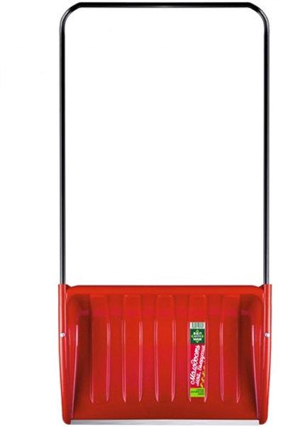 Скрепер для уборки снега БелЦентроМаш (модель 1840-Ч) красный без колёс