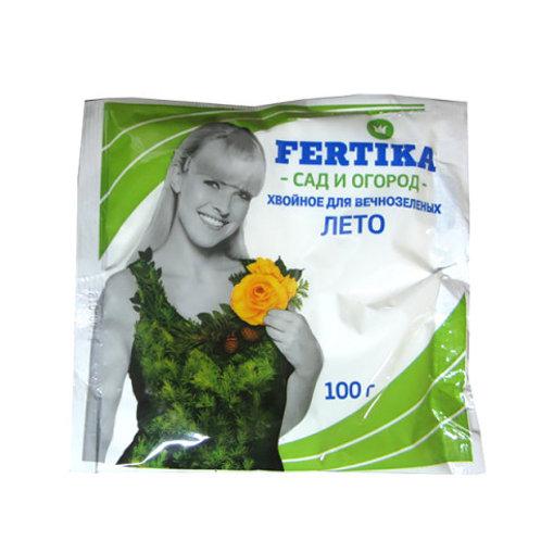 """Удобрение Фертика """"хвойное для вечнозелёных"""" ЛЕТО"""
