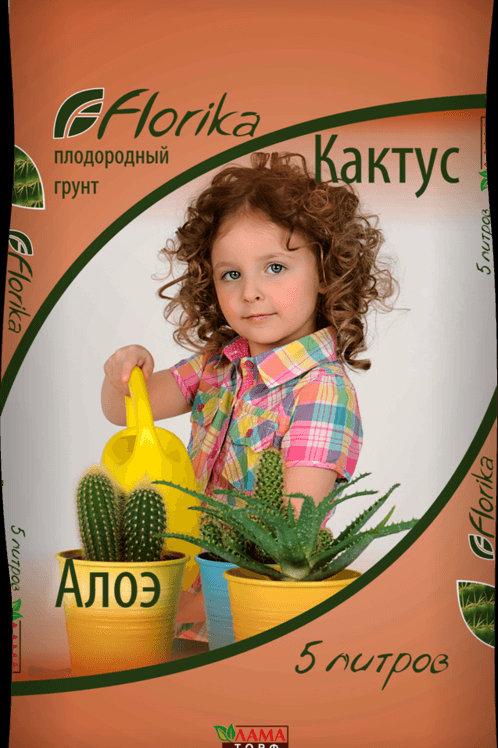 Грунт «Florika» Кактус 2,5л.
