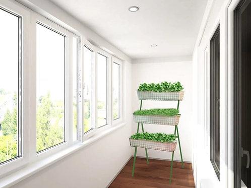 Вертикальный огород, 3 ящика