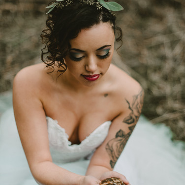 Bridal hair and makeup in Wisconsin Dells, WI
