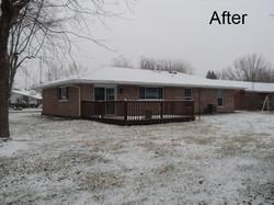 Eaton Ohio house fire damage after
