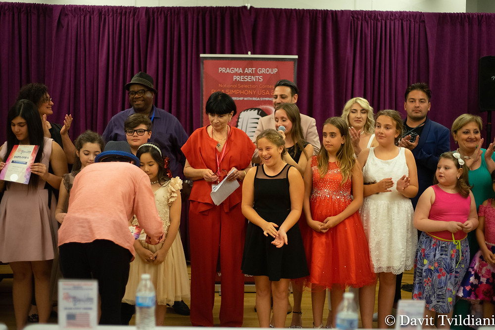 the awarding ceremony of the national selection contest