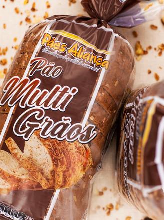 Embalagem Pão Multi Grãos 6 cores