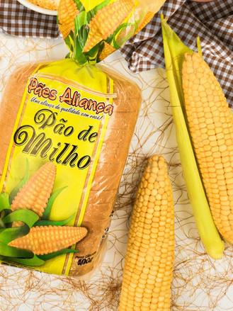 Embalagem Pão de Milho 6 cores