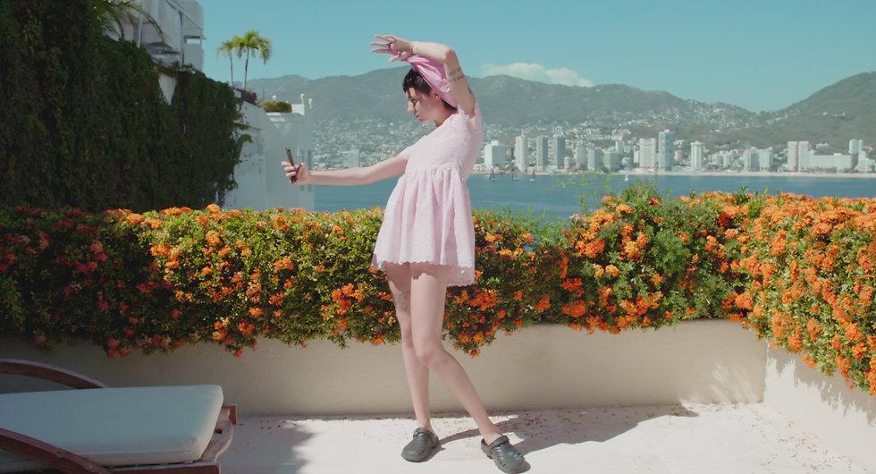 2 searching_eva_pink dress selfie.jpg