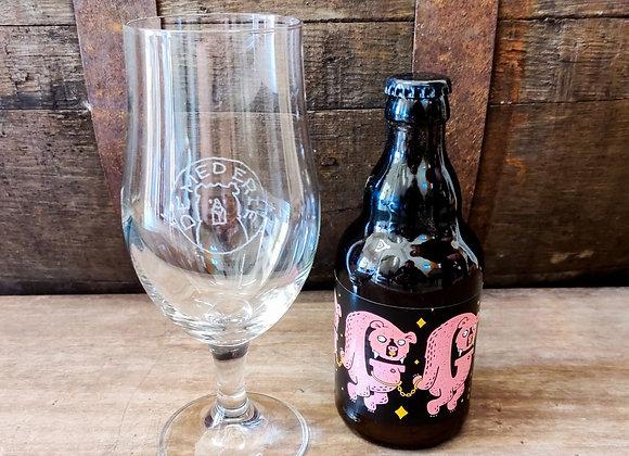 12 x Grizzly + glas