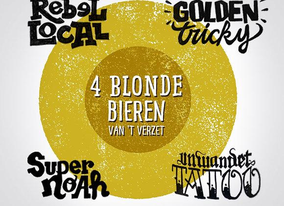 Blond Verzet-kwartet