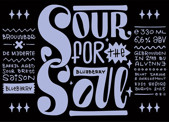 Sour for the Soul • Blueberry – 75cl vers getapt