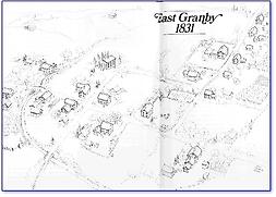 CenterofEast Granby, 1831 map