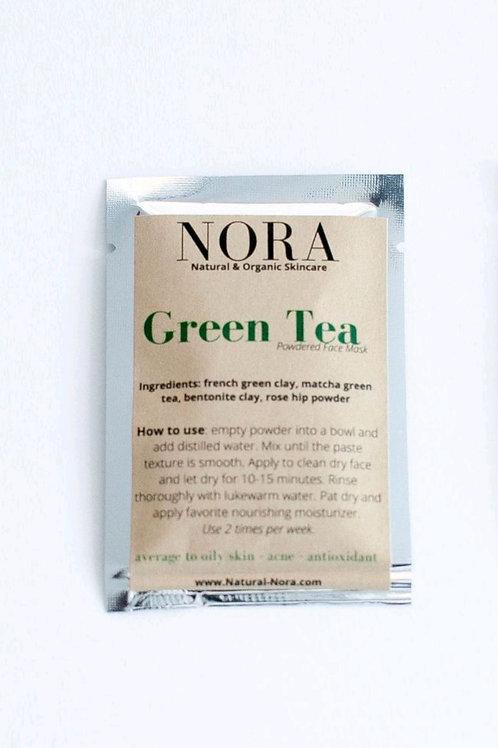 Powder Skincare Mask - Green Tea
