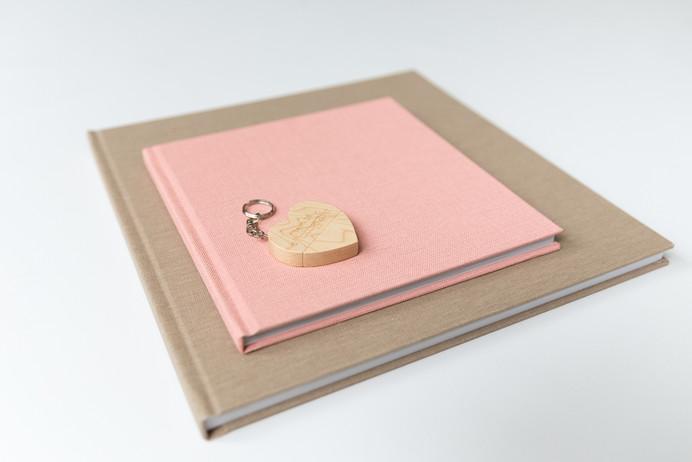 fotoalbums met linnenkaft