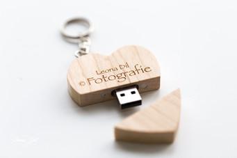 foto's op USB
