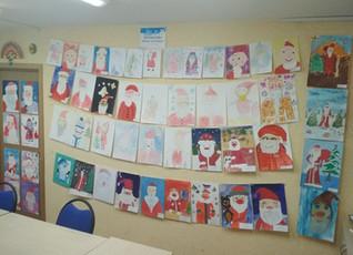 Конкурс детских рисунков «Портрет Деда Мороза»
