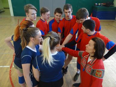 Проведение турнира по волейболу,  посвящённого  Международному женскому дню