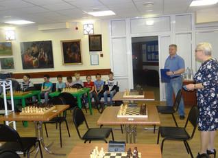 Турнир по быстрым шахматам, посвященный 60-летию Зеленограда.
