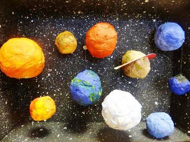 Конкурс поделок «Космос», посвященный Дню космонавтики