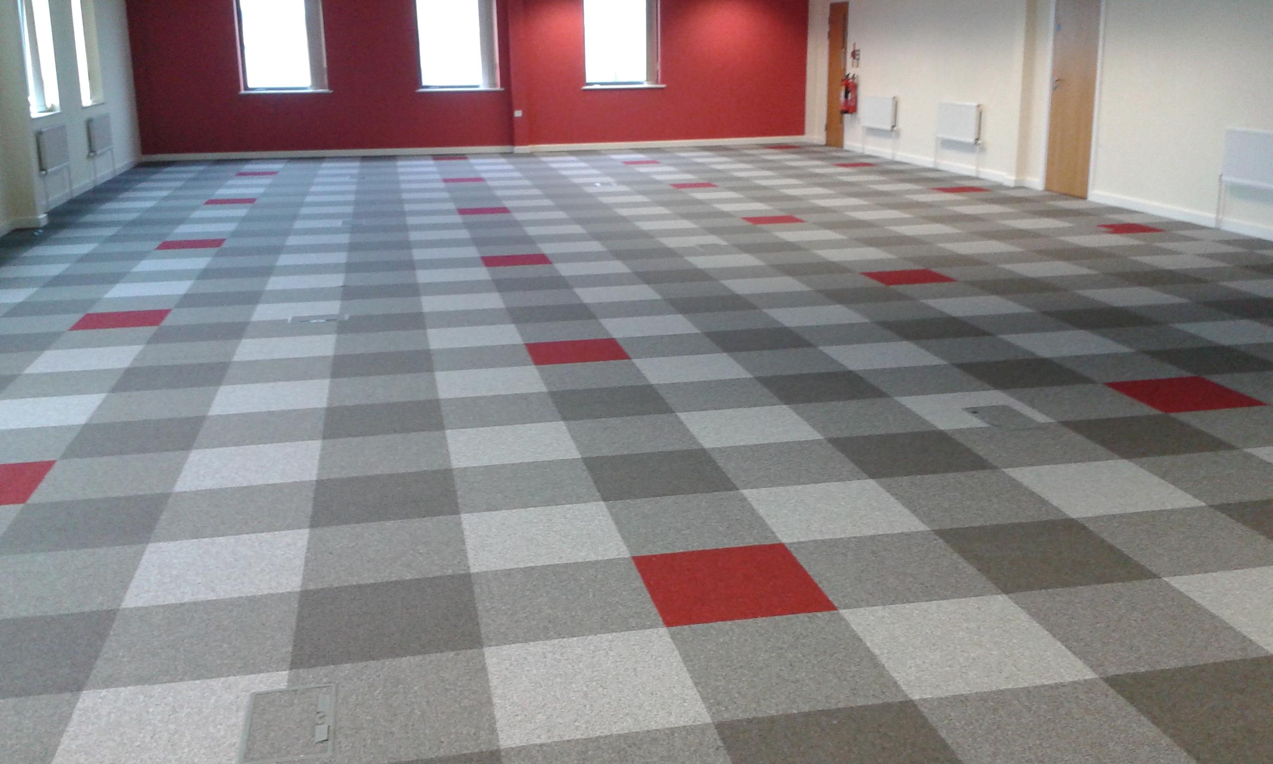 Contract Carpet Tiles Bespoke Design