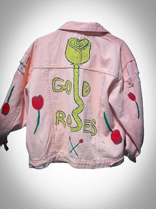 Gold Roses Jacket