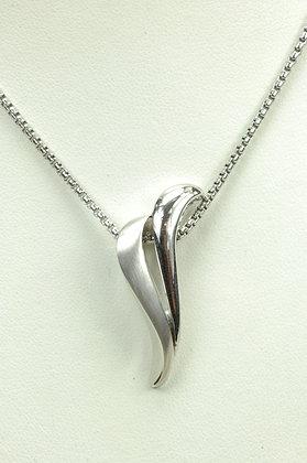 Hanger zilver, Breuning + collier