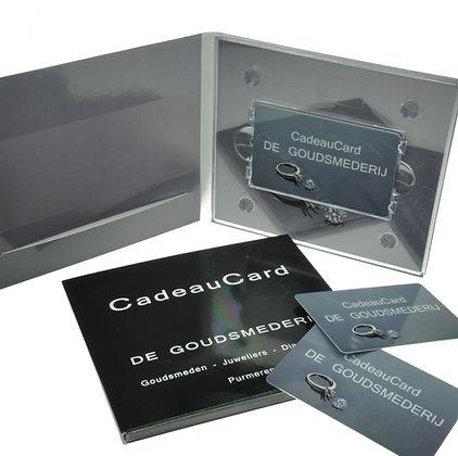 CadeauCard ter waarde van € 75,-