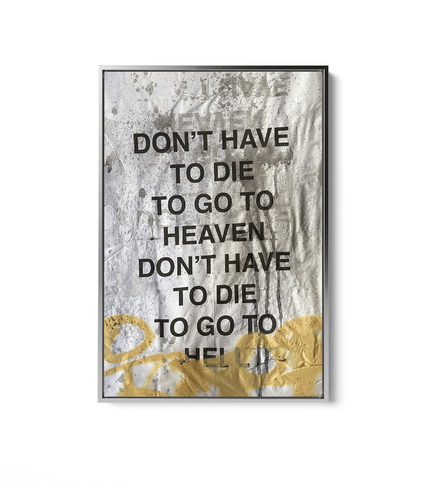 Don't Have to Die