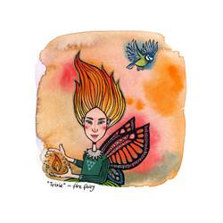 Trixie - Fire Fairy