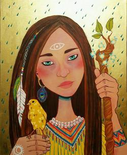 Nahimana, She Who Walks in Beauty