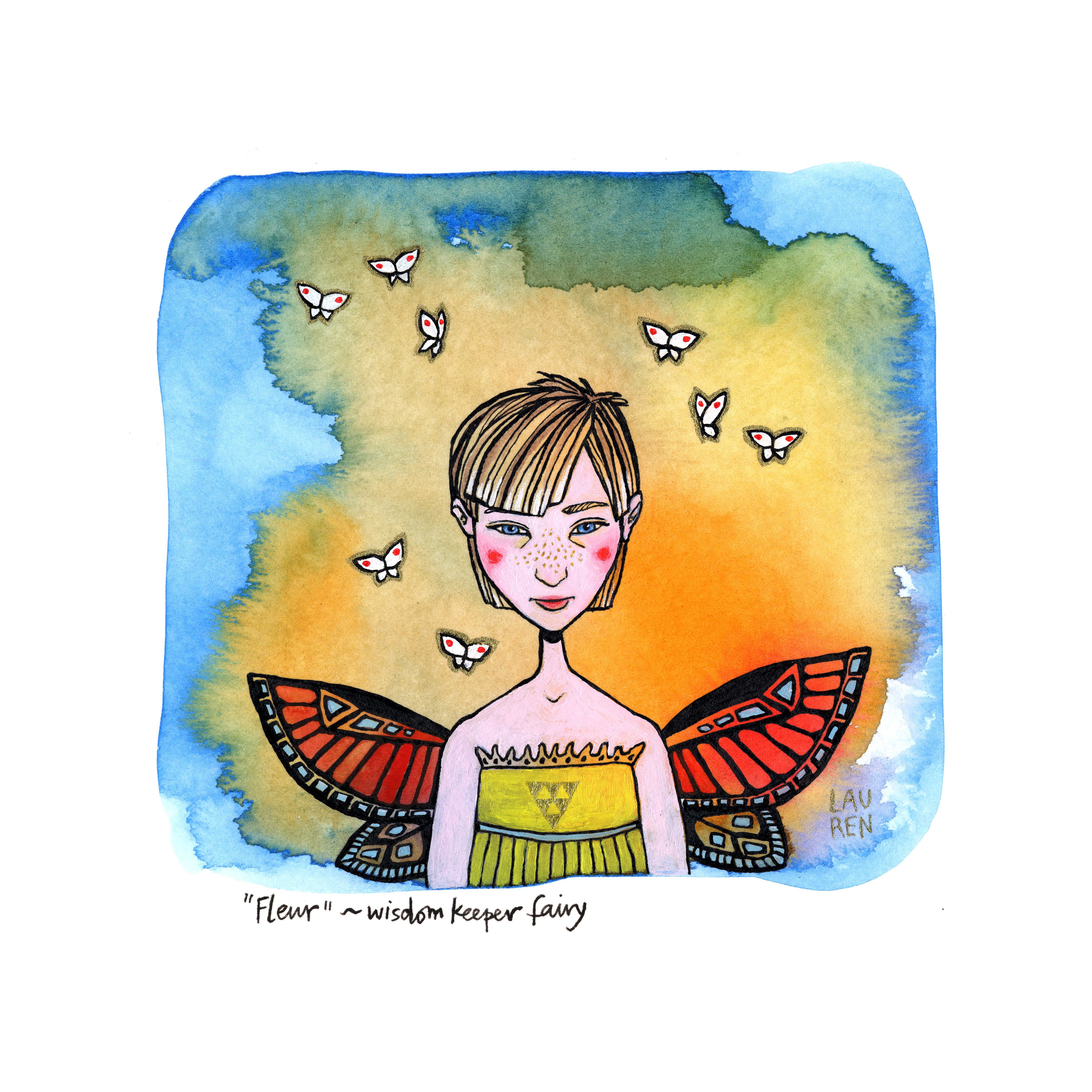 Fleur - Wisdom Keeper Fairy