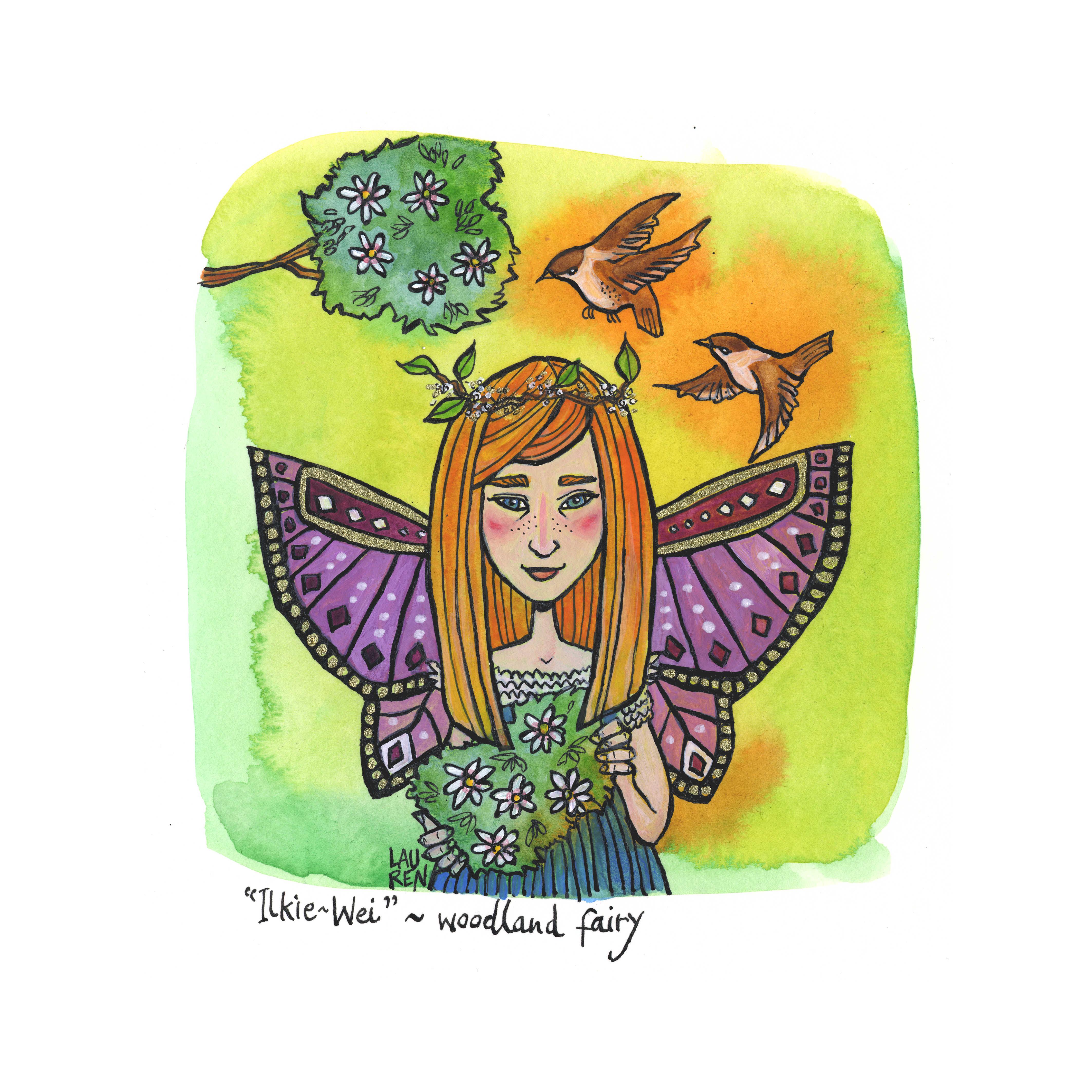 Ilkie Wei - Woodland Fairy
