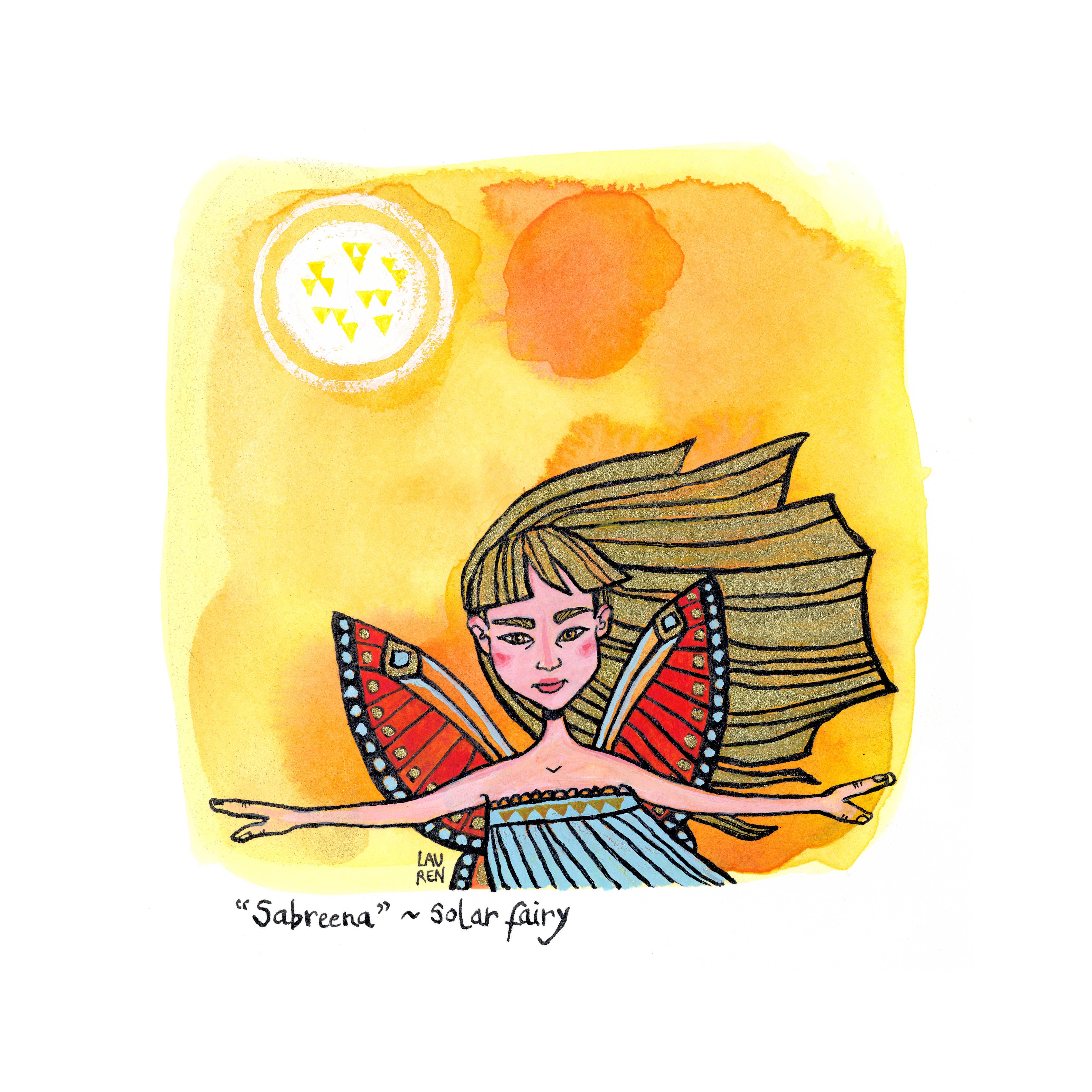 Sabreena - Solar Fairy