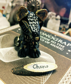 SOLD ~ Chano the Black Wolfy Cub