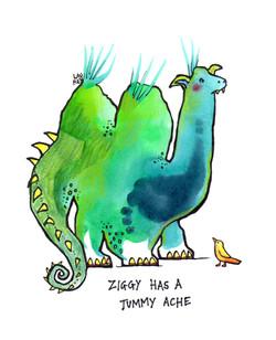 Ziggy has a Tummy Ache