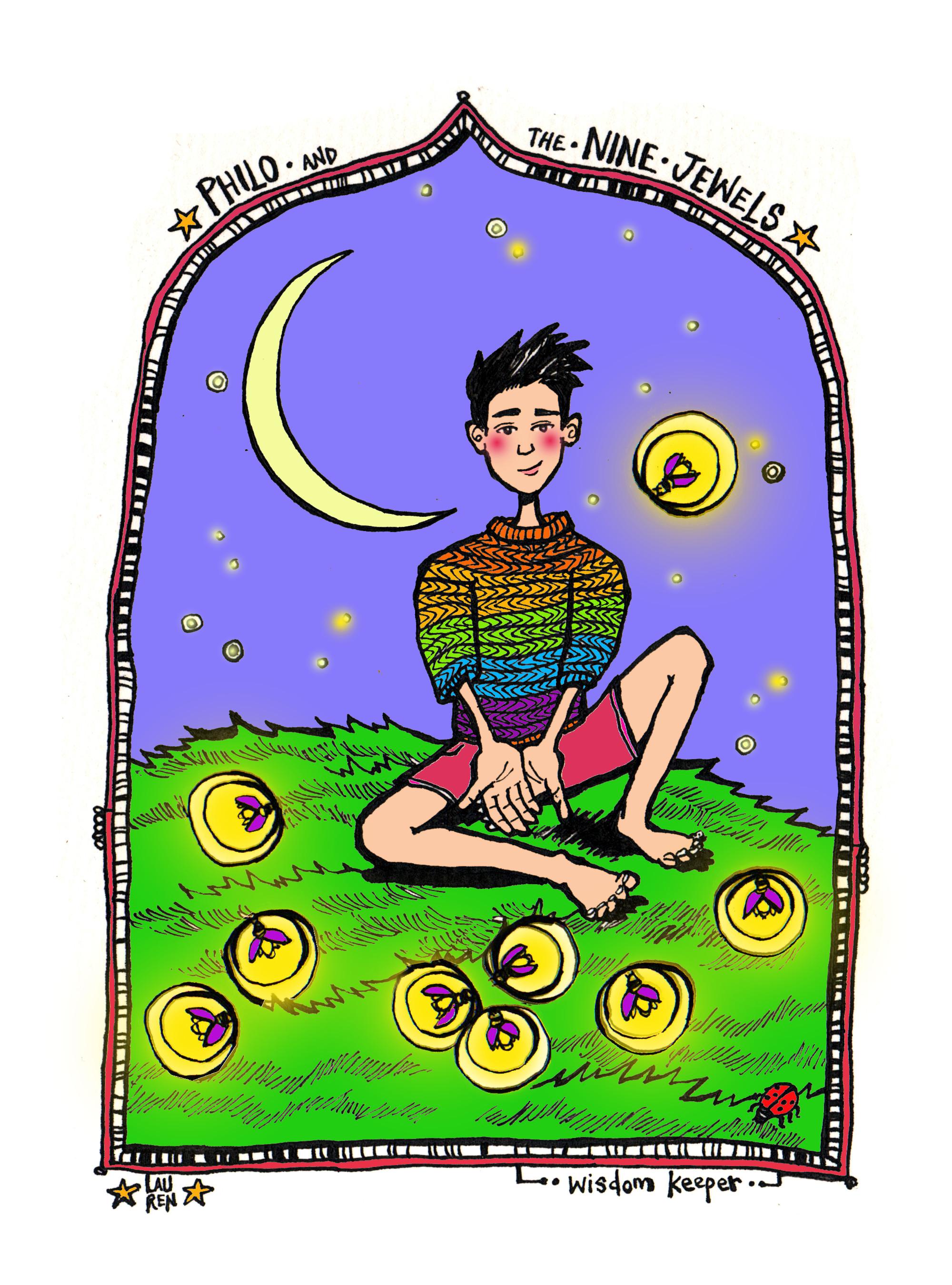 Philo the Wisdom Keeper (colourway)