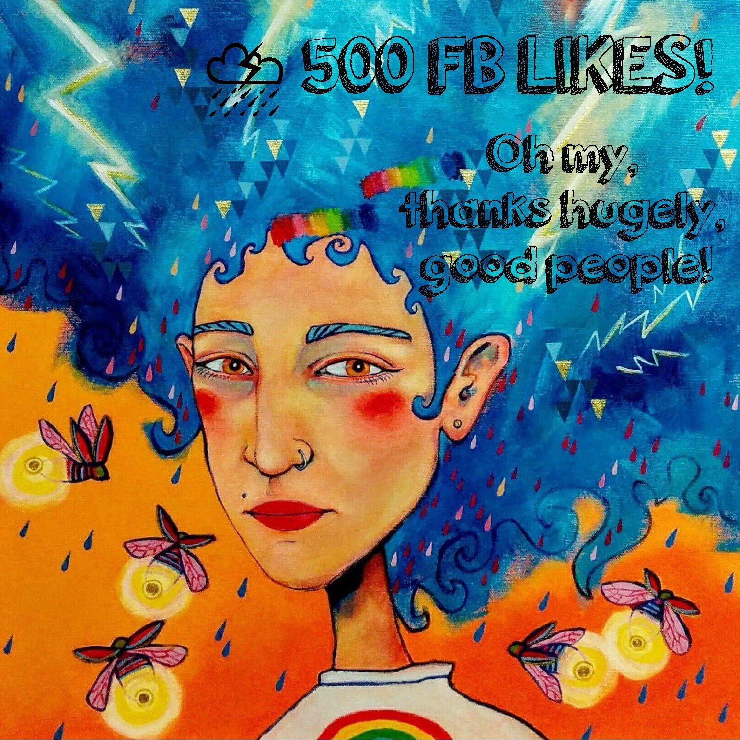 500 FB LIKES!