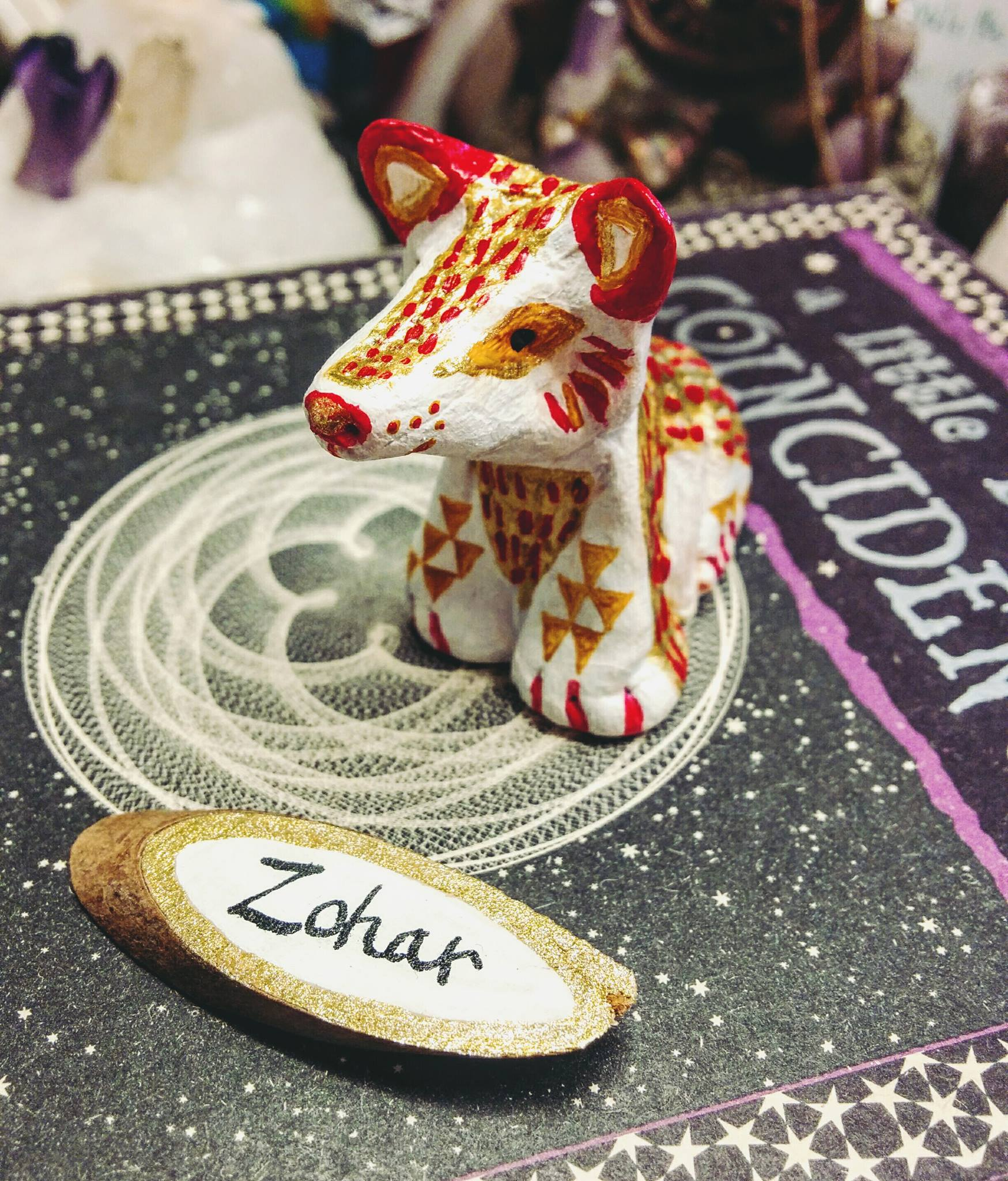 SOLD ~ Zohar the White Wolfy Cub
