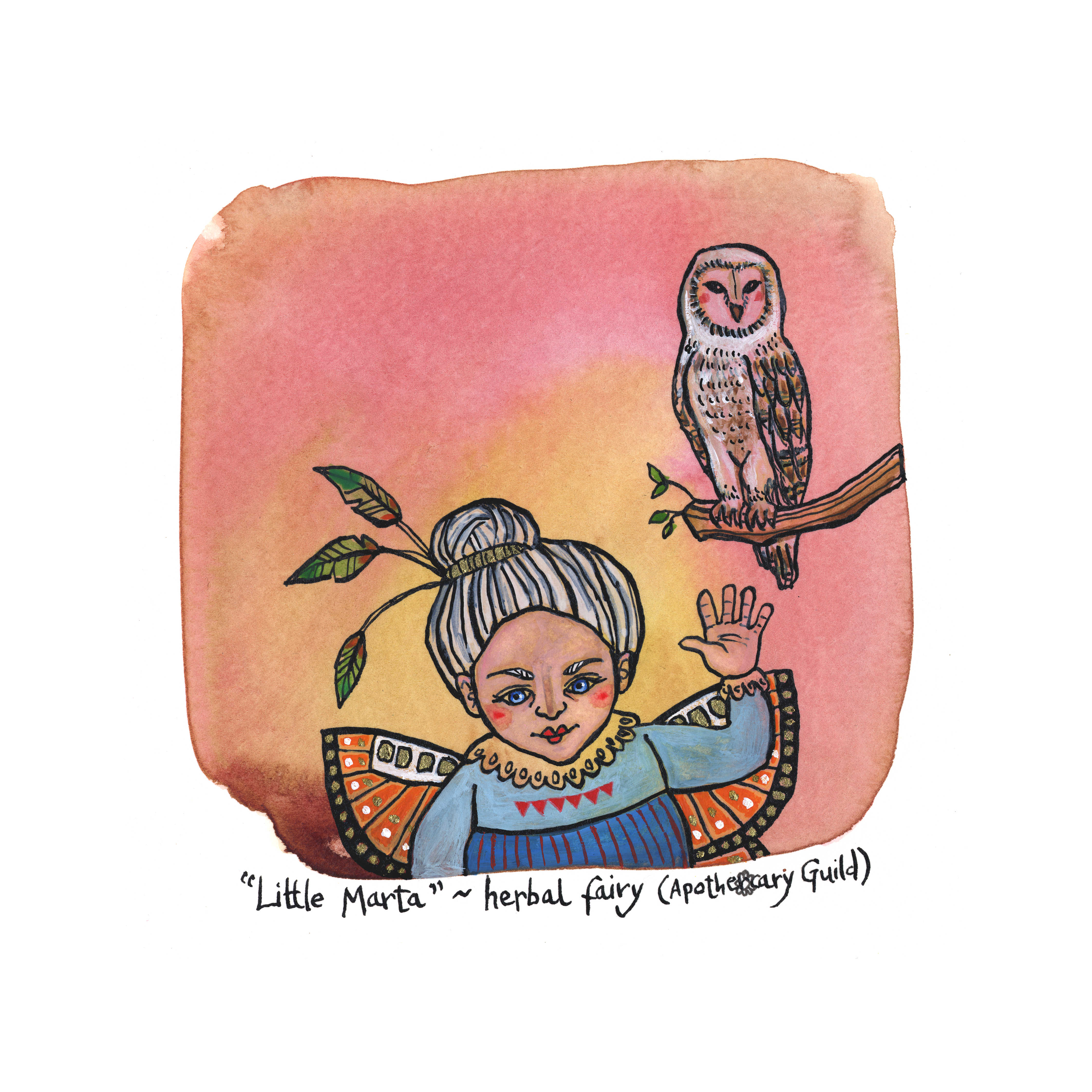 Little Marta - Herbal Fairy