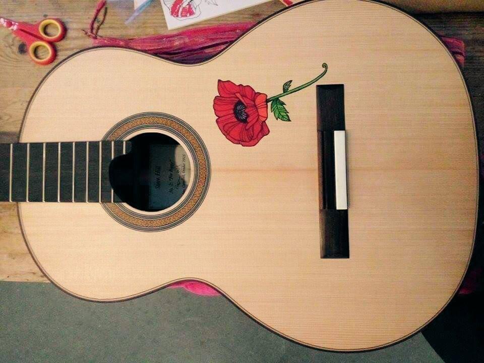 Guitar Tattoo...