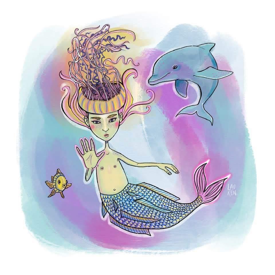 Morgowlesen the Mermaid