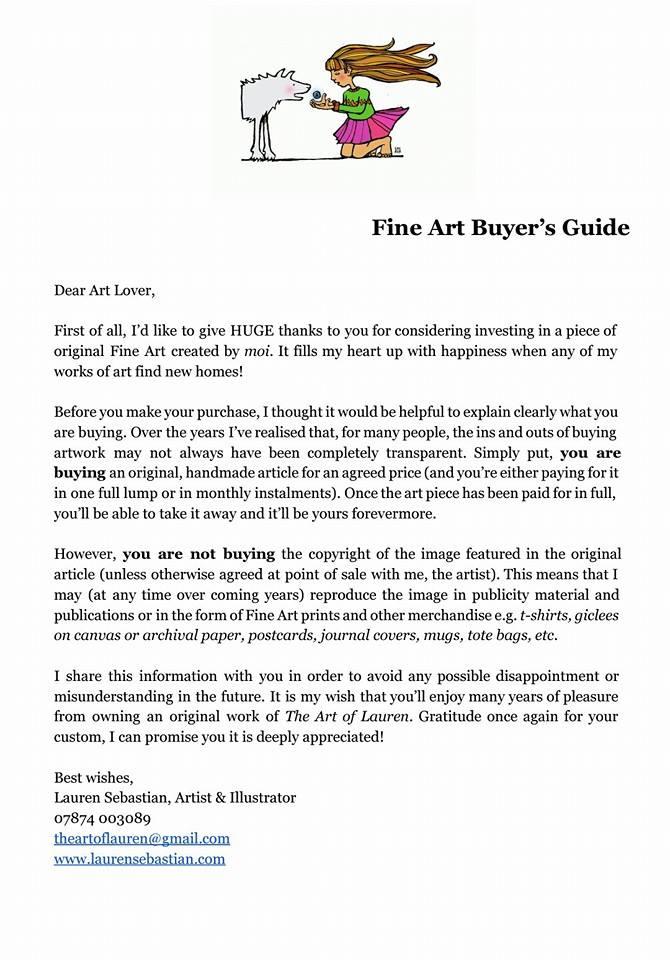 Fine Art Buyer's Guide